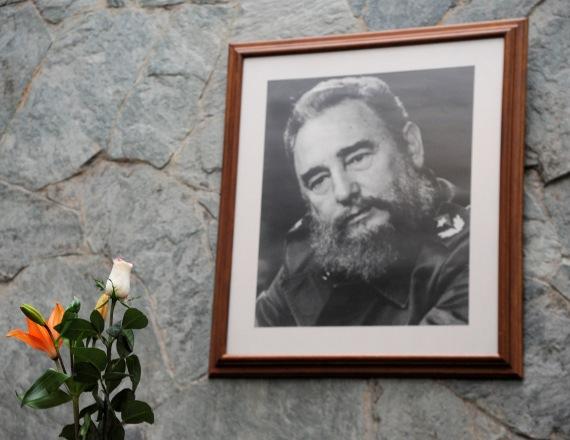 """פידל קסטרו ז""""ל"""