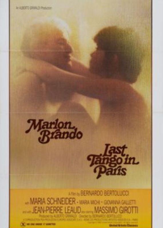 כרזת הסרט 'הטנגו האחרון בפריז'