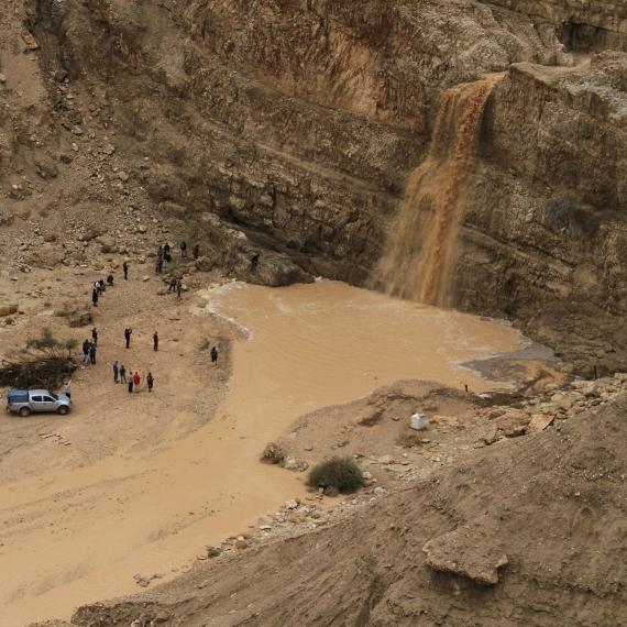 שיטפונות במדבר יהודה