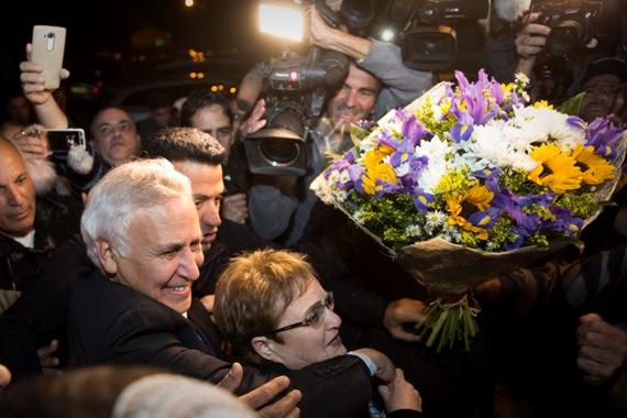 חגיגות השחרור של הנשיא לשעבר קצב
