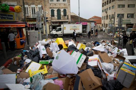 שביתת הזבל בירושלים