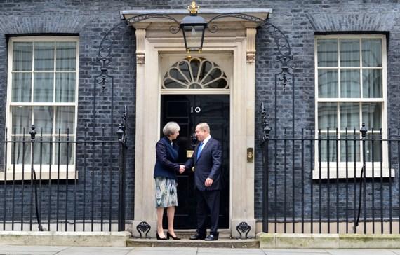 נתניהו בביקור בבית ראש ממשלת בריטניה