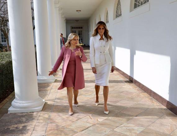 מלניה טראמפ ושרה נתניהו