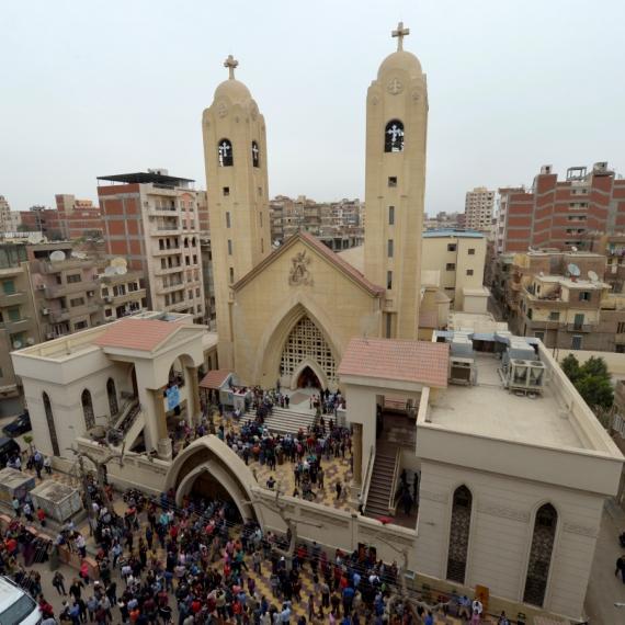 פיגוע בכנסייה הקופטית במצרים