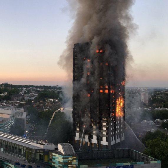 שריפה בלונדון