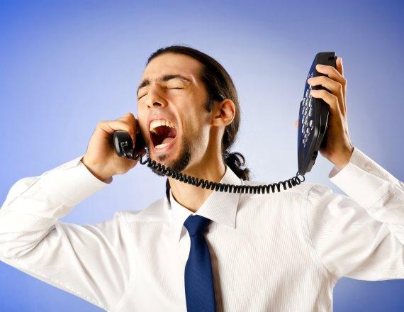 משוחח בטלפון