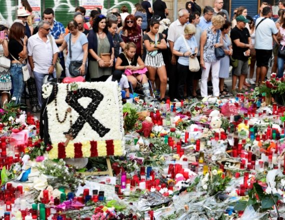 פינת זיכרון לנפגעי טרור, ברצלונה