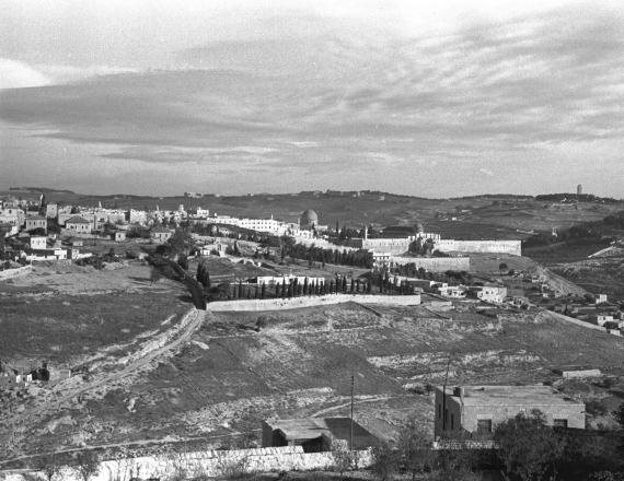 נוף ירושלים, 1948