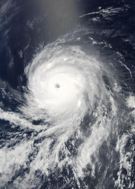 הוריקן, אילוסטרציה