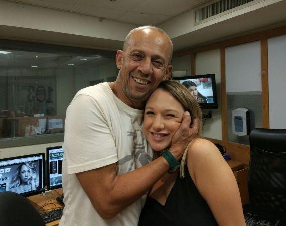 ספיר סבן עם דידי באולפן
