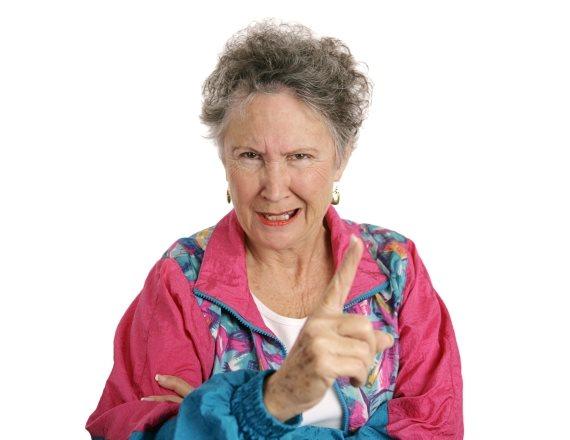 סבתא עצבנית