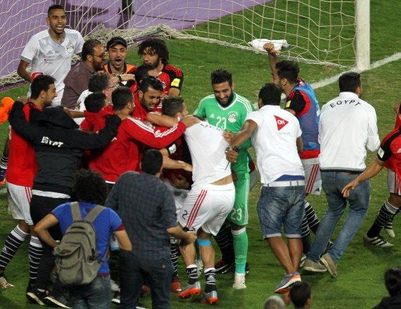 נבחרת מצרים לאחר ההעפלה למונדיאל