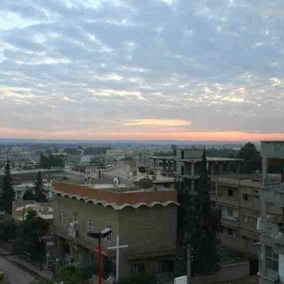 העיר א-רקה שבסוריה