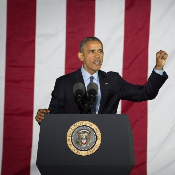 """נשיא ארה""""ב לשעבר ברק אובמה"""