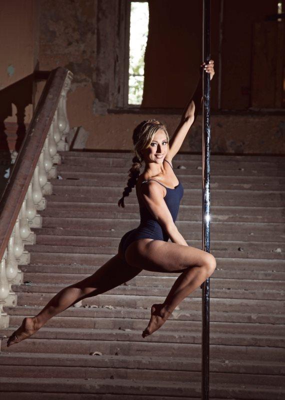 ריקוד על עמוד