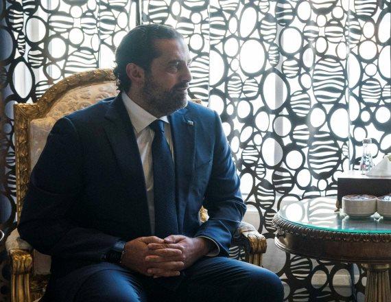 ראש ממשלת לבנון סעד אל-חרירי