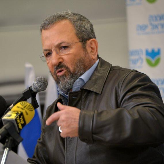 ראש הממשלה לשעבר אהוד ברק