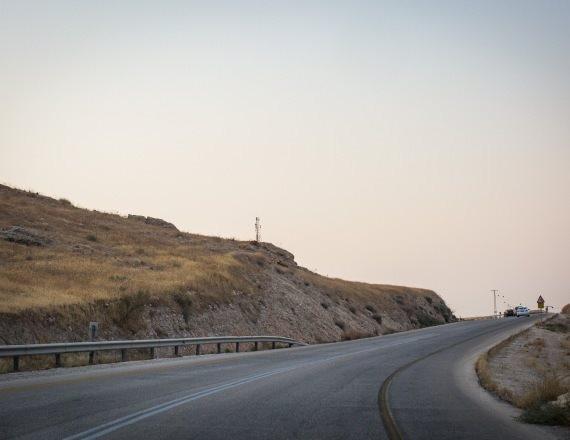 כביש בשטחים