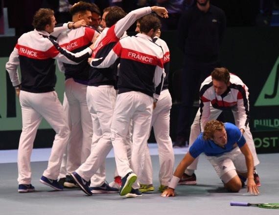 נבחרת צרפת בטניס