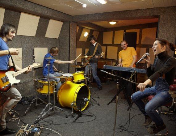 הקלטה באולפן