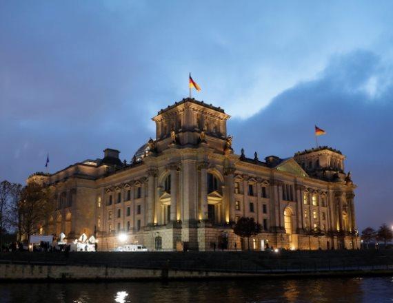 בניין הרייכסטאג בברלין