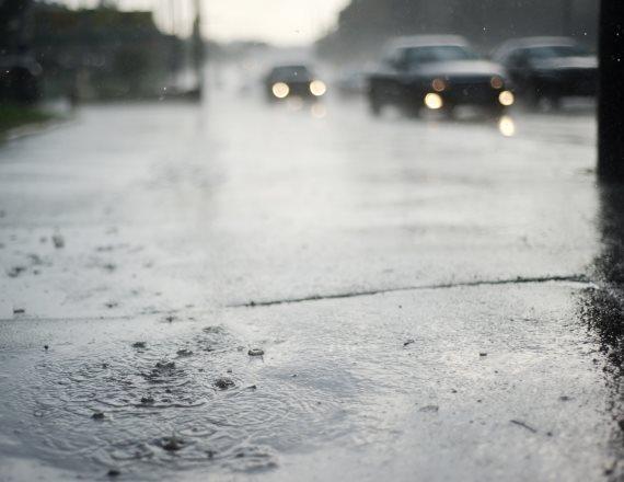 גשם חורף הצפה
