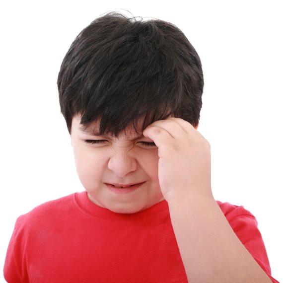 כאב ראש ילד