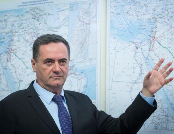 """שר התחבורה והשר לענייני מודיעין ישראל כ""""ץ"""