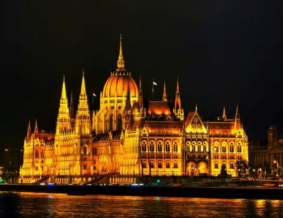 בניין הפרלמנט ההונגרי בבודפשט