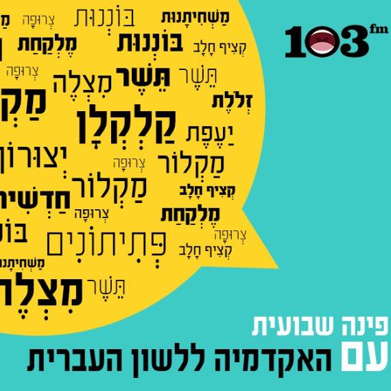 פינת האקדמיה ללשון העברית