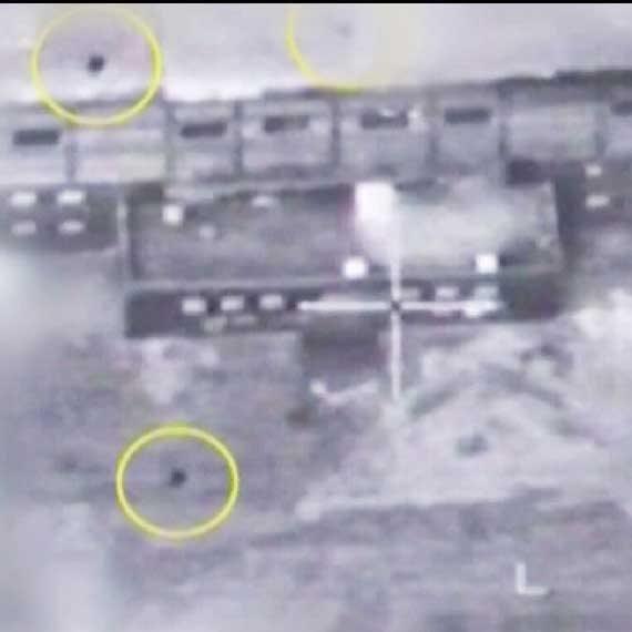 תצלומי אוויר של אתר הכור הגרעיני בסוריה