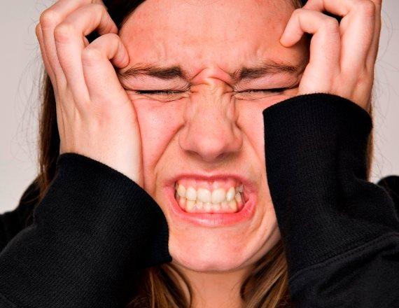 אישה כעס