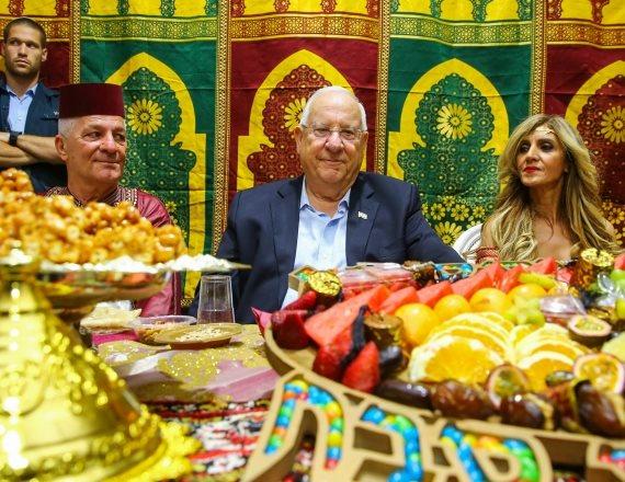 נשיא המדינה ראובן ריבלין במימונה