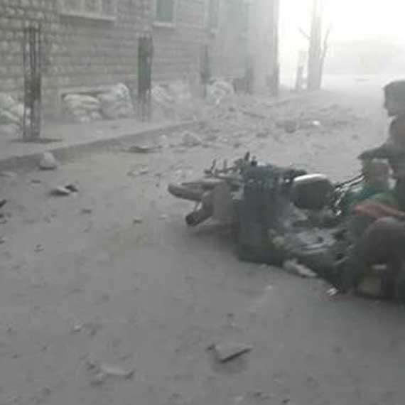 הריסות בסוריה