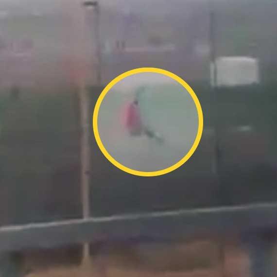 סרטון הירי בפלסטיני