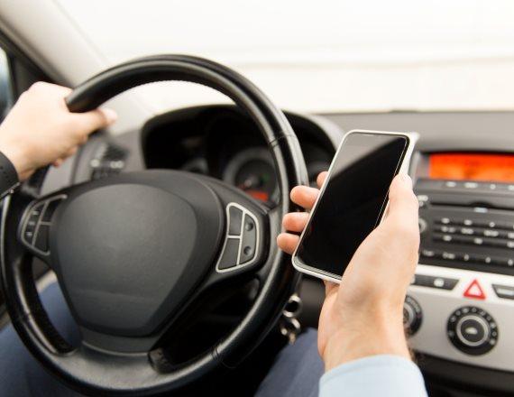 שליחת מיסרון בעת הנהיגה