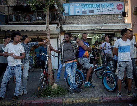 מהגרים בדרום תל אביב