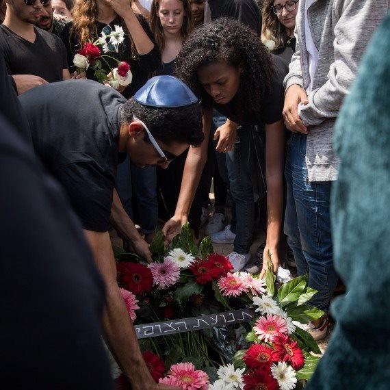 לוויה הרוגים נחל צפית