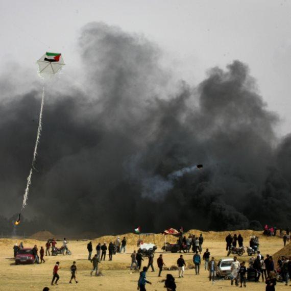 הפגנות בגבול עזה