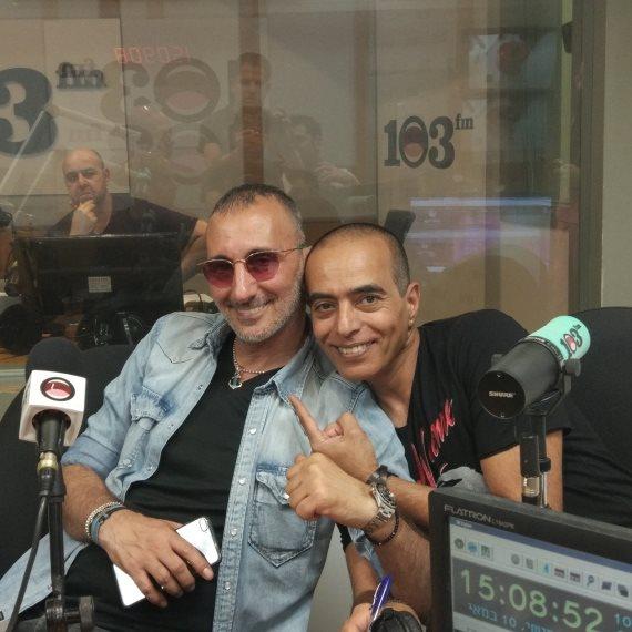 רון שלום ושמעון בוסקילה