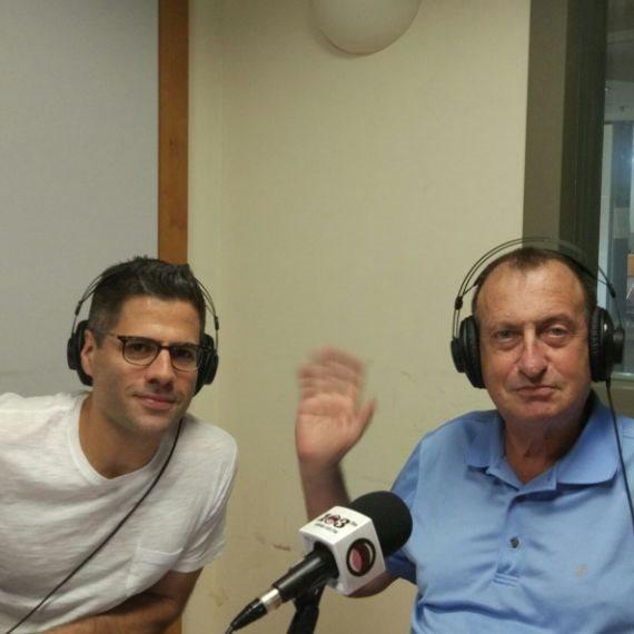 ראש עיריית תל אביב-יפו רון חולדאי וגדעון אוקו