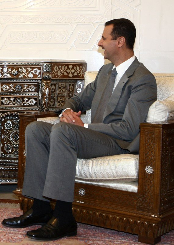 נשיא סוריה בשאר אל אסד