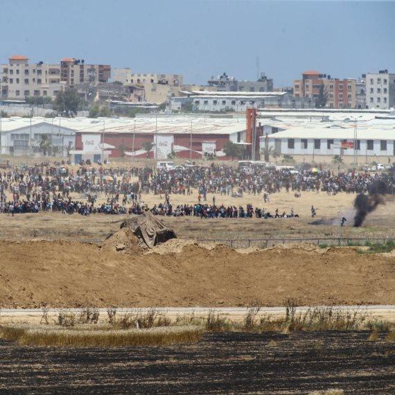 עזה - מהומות העברת השגרירות