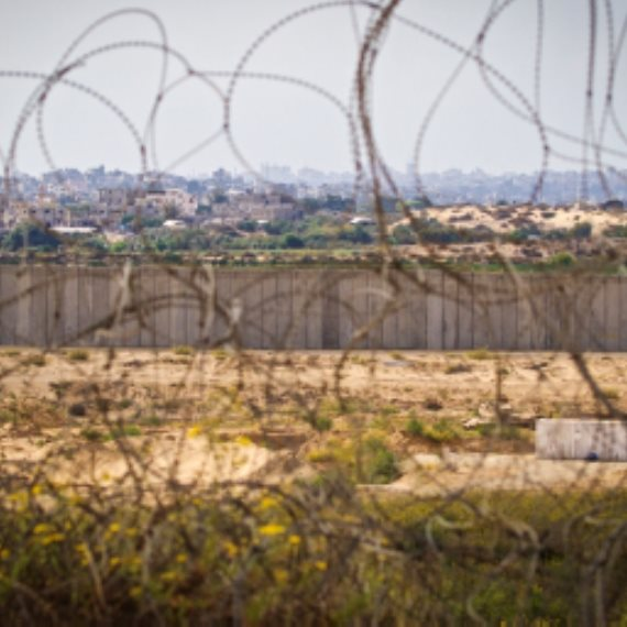 גדר הגבול עם רצועת עזה