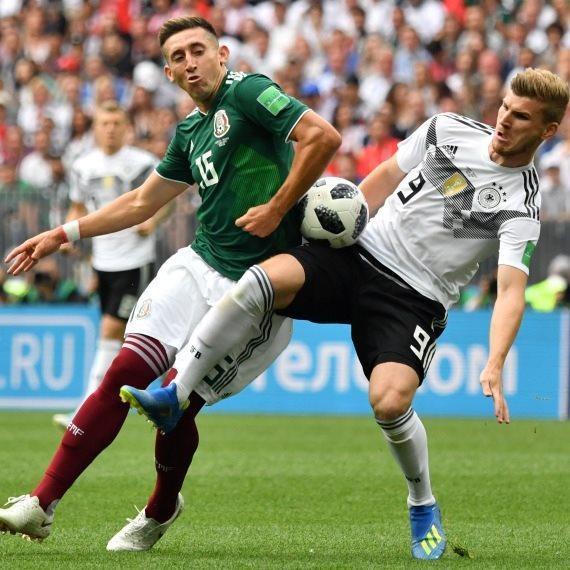 נבחרת מקסיקו נגד נבחרת גרמניה