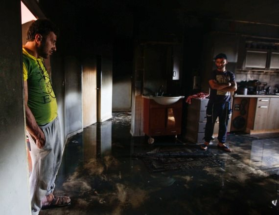 הבית השרוף בכפר דומא