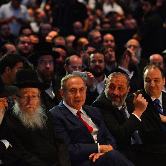 נתניהו וחברי הכנסת החרדים
