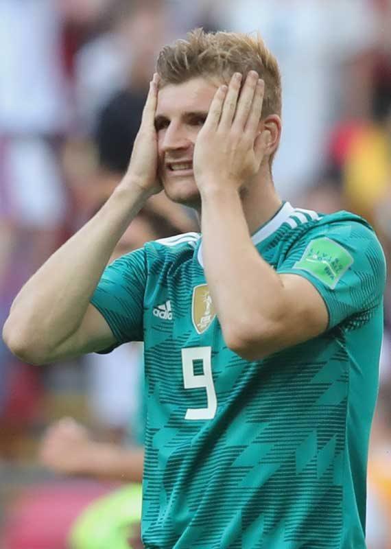 טימו ורנר מנבחרת גרמניה
