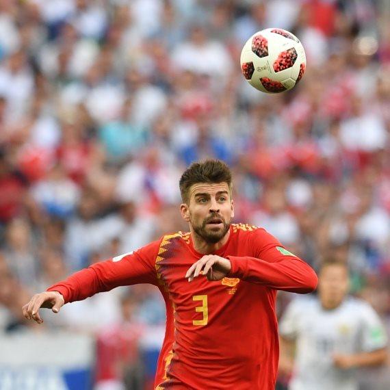ז'ראר פיקה במדי נבחרת ספרד
