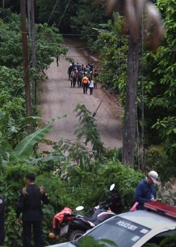 מאמצי החילוץ בתאילנד